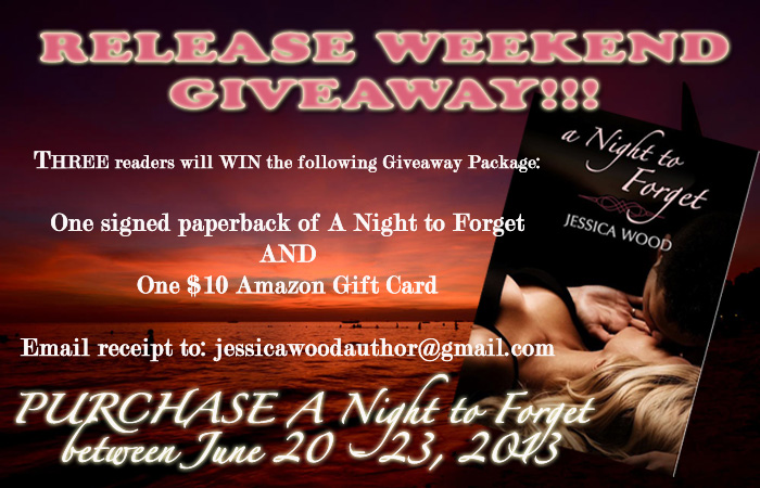 Release Weekend Giveaway Graphic