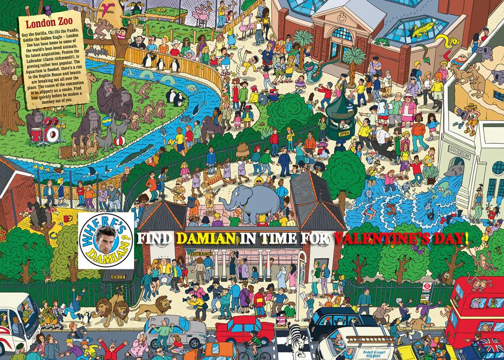 DAMIAN GAME - Wheres Damian 2