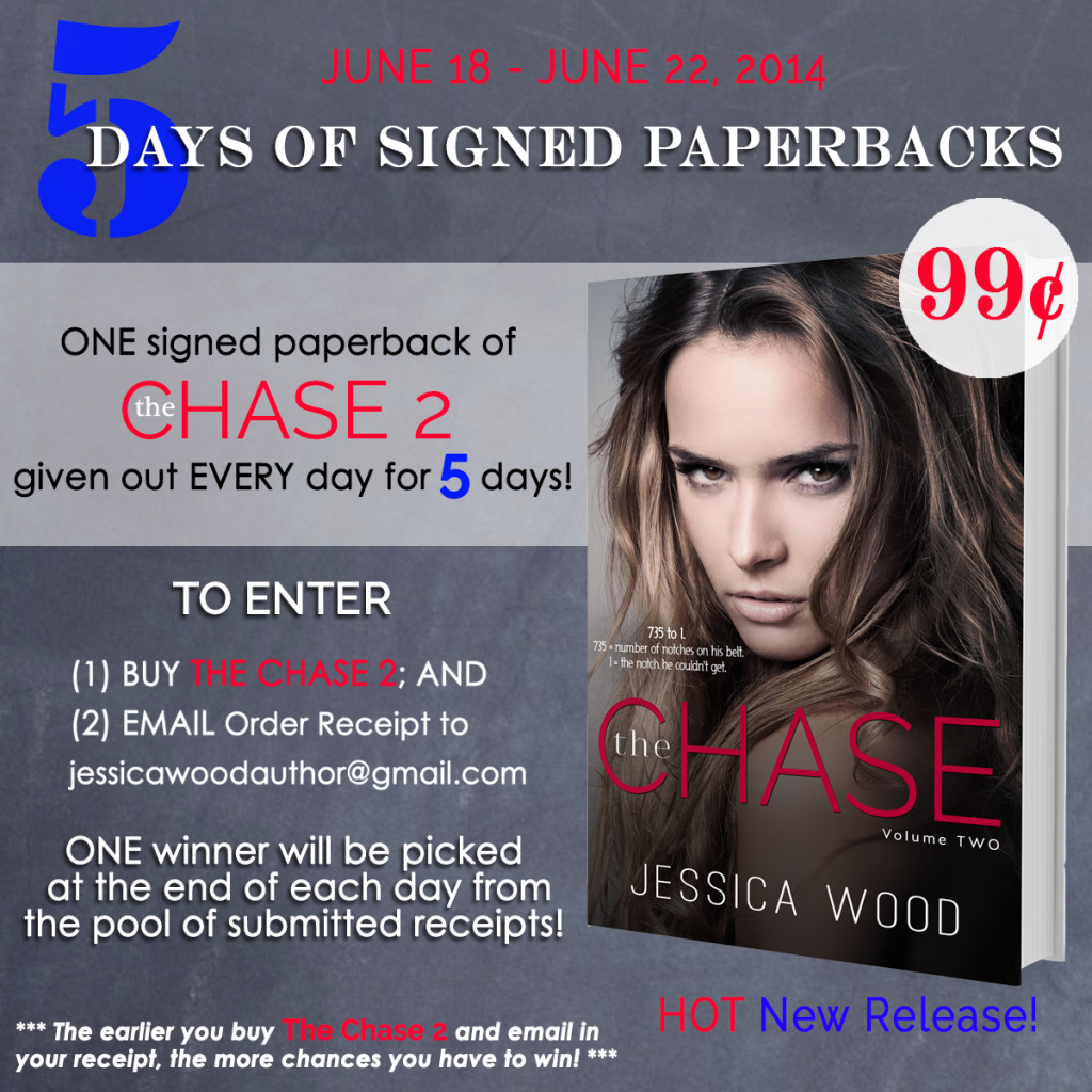The Chase 2 - Paperback Giveaway